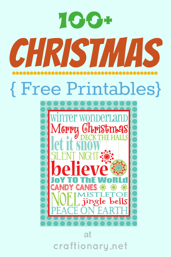 photograph about Free Printable Christmas Decorations identify Craftionary