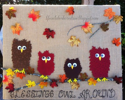thanksgiving owls