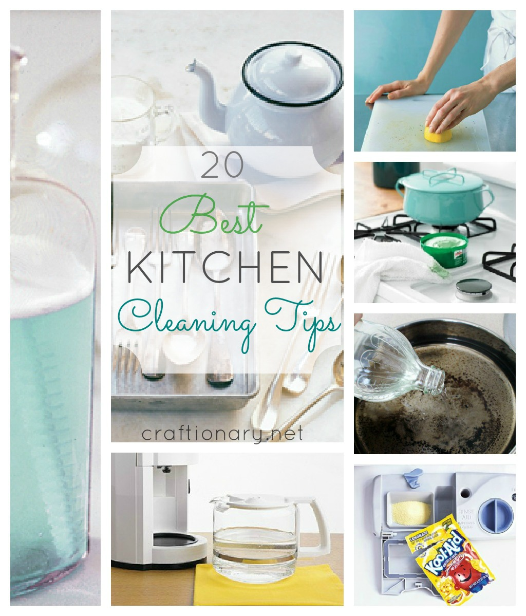 FlyLady's Detailed Cleaning List – Zone 2: The Kitchen