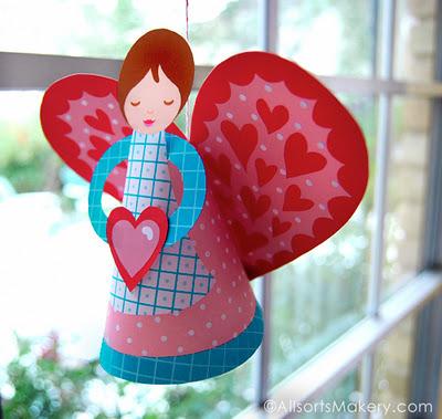 valentines day angel