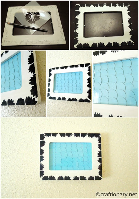 painted wooden frame 3