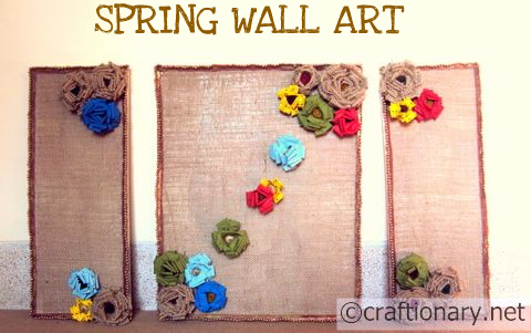 burlap home wall art 3