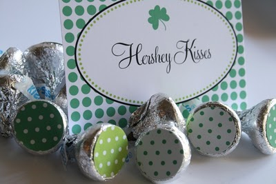 st patricks kisses printable