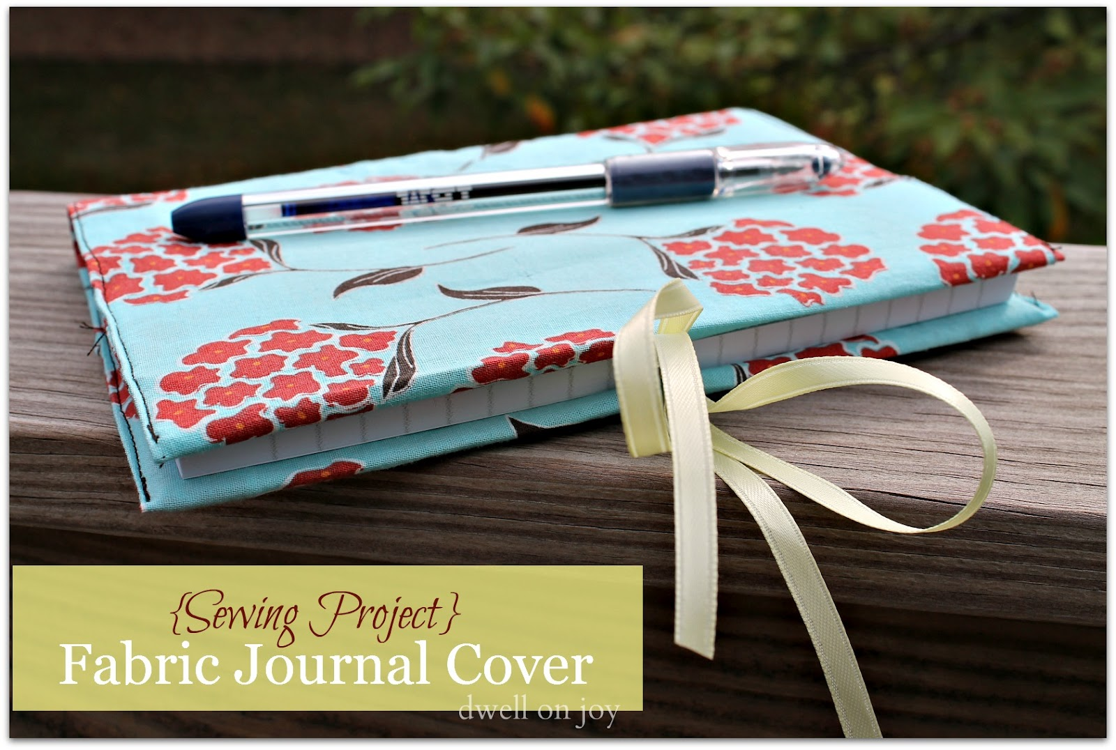 How To Make A Book Cover Out Of Fabric : Craftionary