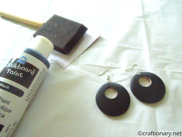 chalkboard paint crafts