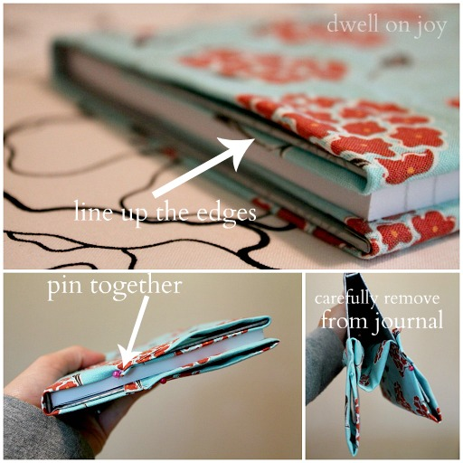 Diy Sewing Book Cover ~ Craftionary