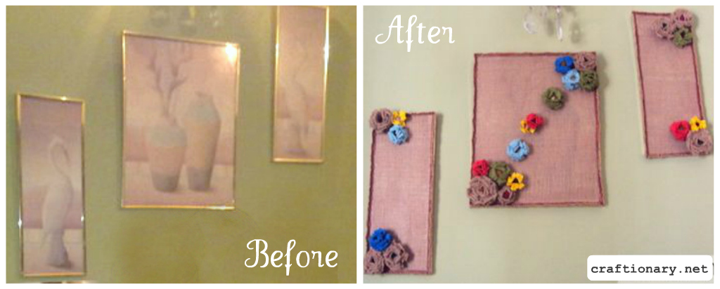 Spring Wall Art To Make These You Will Need