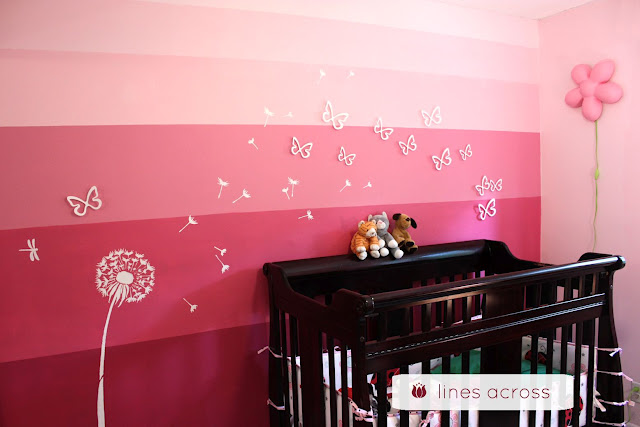 Pink Accent Wall craftionary