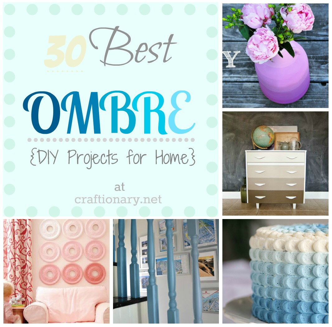30 best ombre diy projects crafts