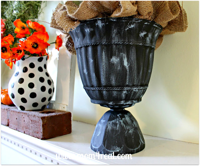 DIY Urn Planter Inexpensive