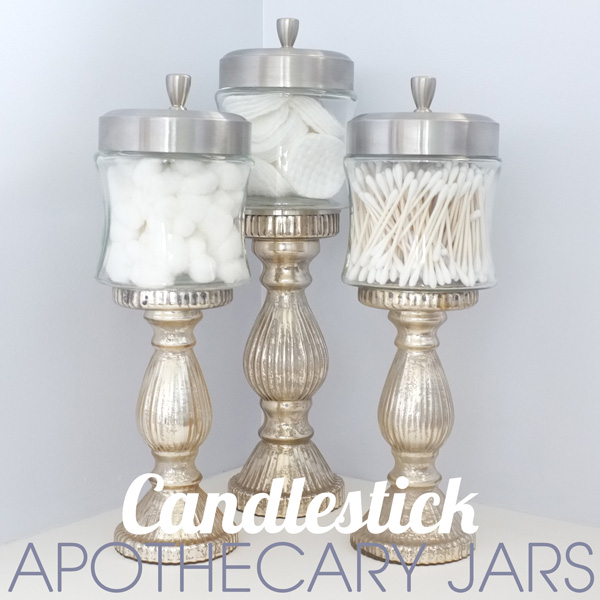 DIY cotton jars