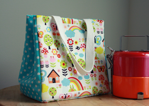 handmade lunch bag tutorial