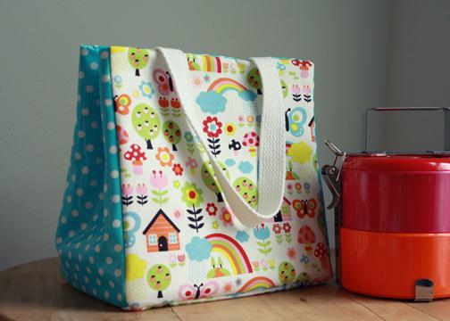 handmade lunch bag tutorial
