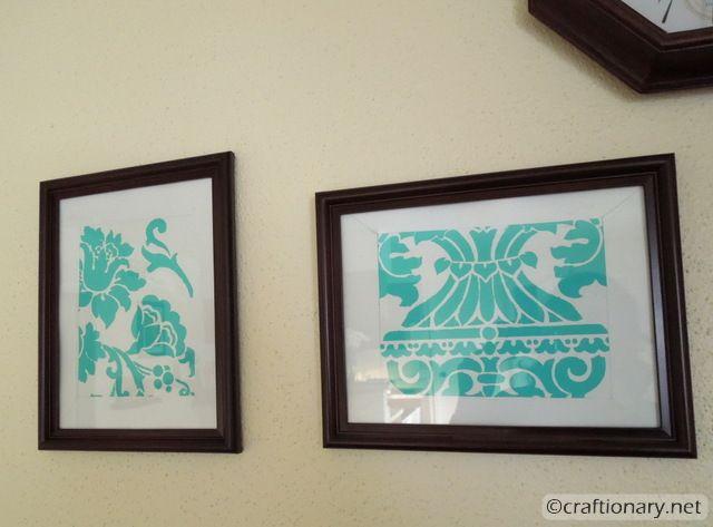 stencil divide frames 3