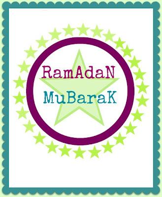 ramadan mubarak free printable frame art
