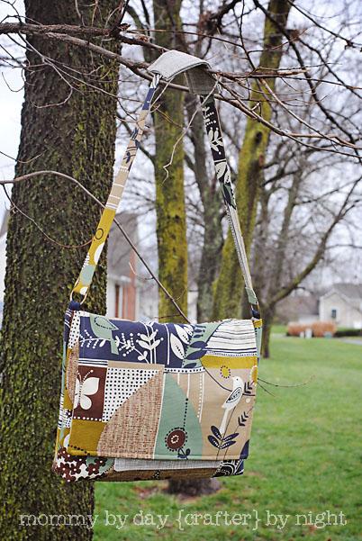 messenger handmade bags