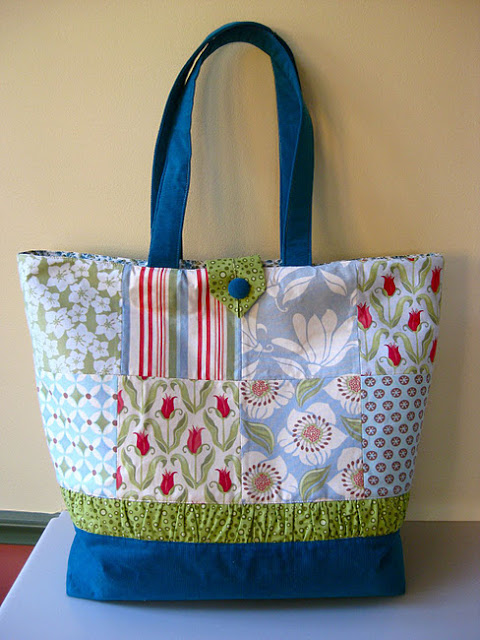 handmade patchwork bag