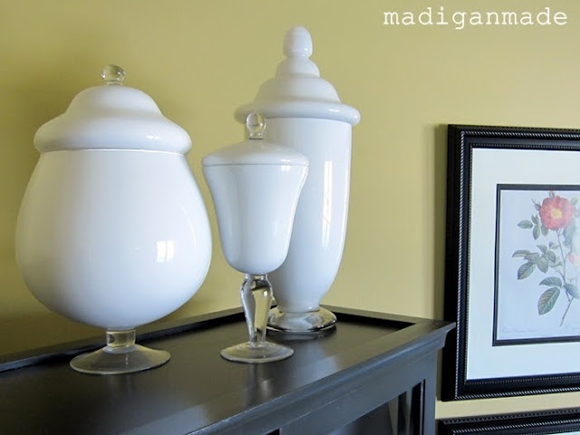 milk glass jars diy
