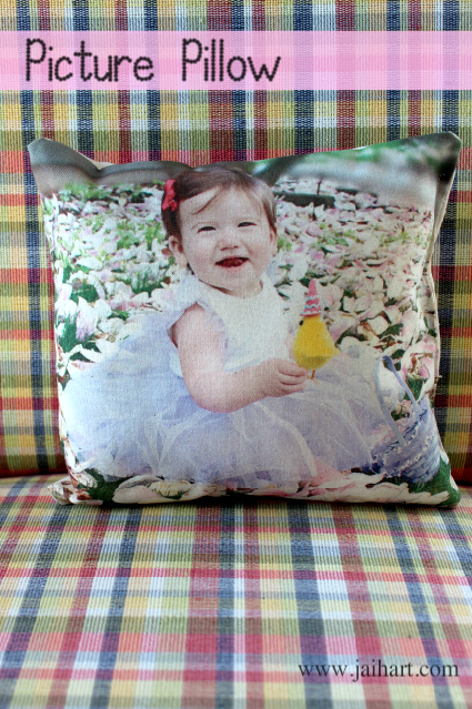 fabric printing pillow
