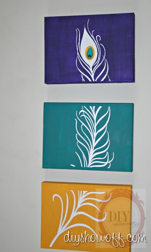 Diy Indian Acrylic Painting On Canvas