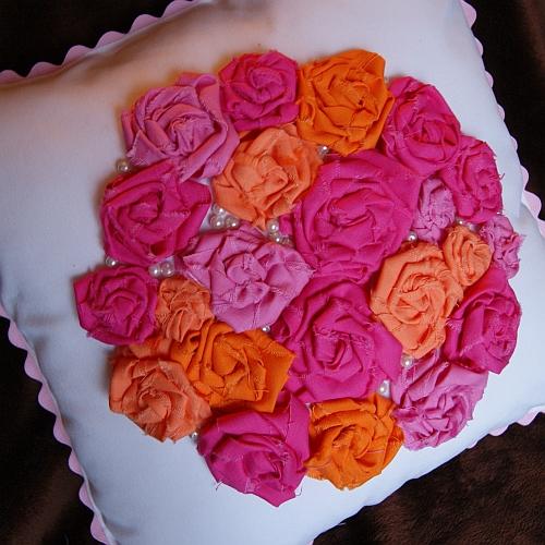 fabric rosettes tutorial