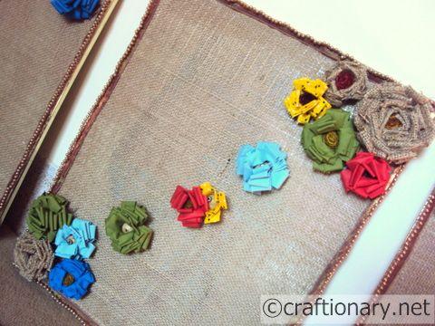 jute frames craft