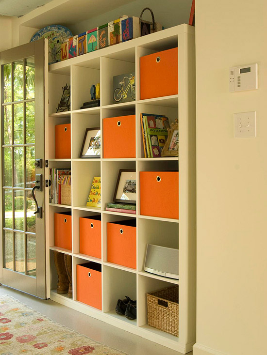 Declutter Your Room With Storage Bins.