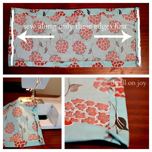 How To Make A Fabric Book Cover ~ Craftionary