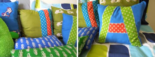 polka dot boys bedroom