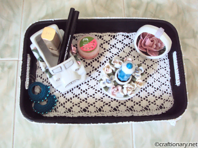 crochet tray tutorial