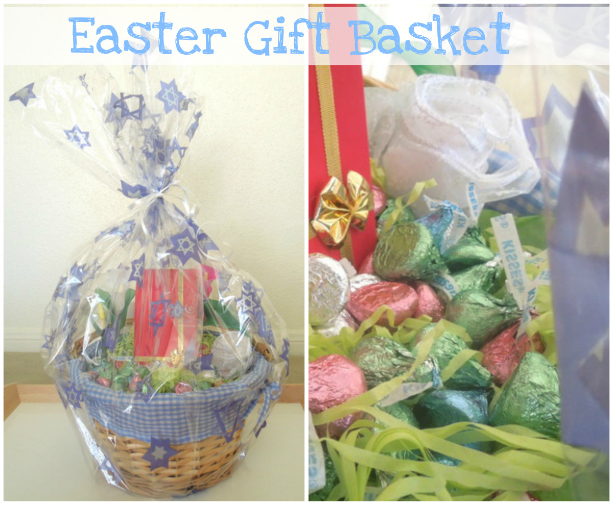 Easter gift basketg hello bar negle