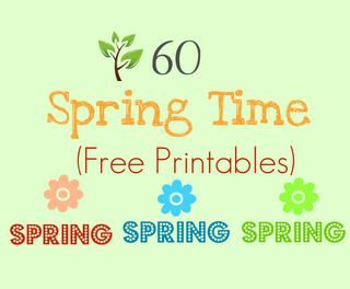 spring time free printables