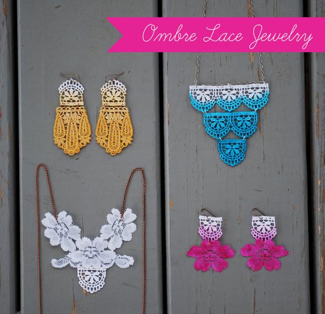 lace jewelry earrings