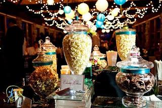 party popcorn jars