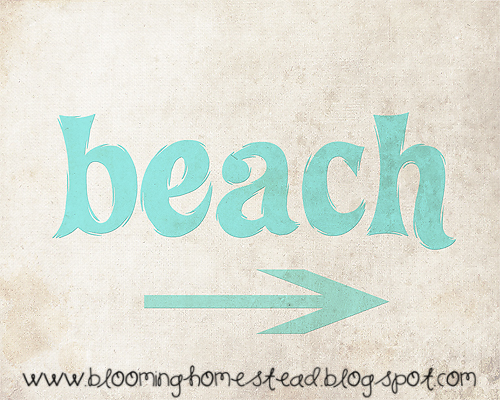 photo relating to Free Printable Beach Stencils referred to as Craftionary