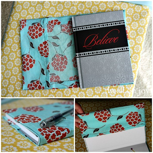 Fabric Book Cover How To ~ Craftionary