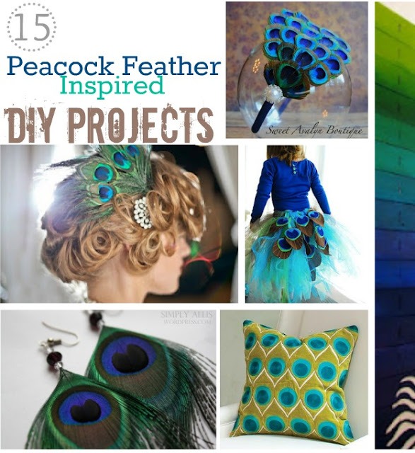 make peacock feather