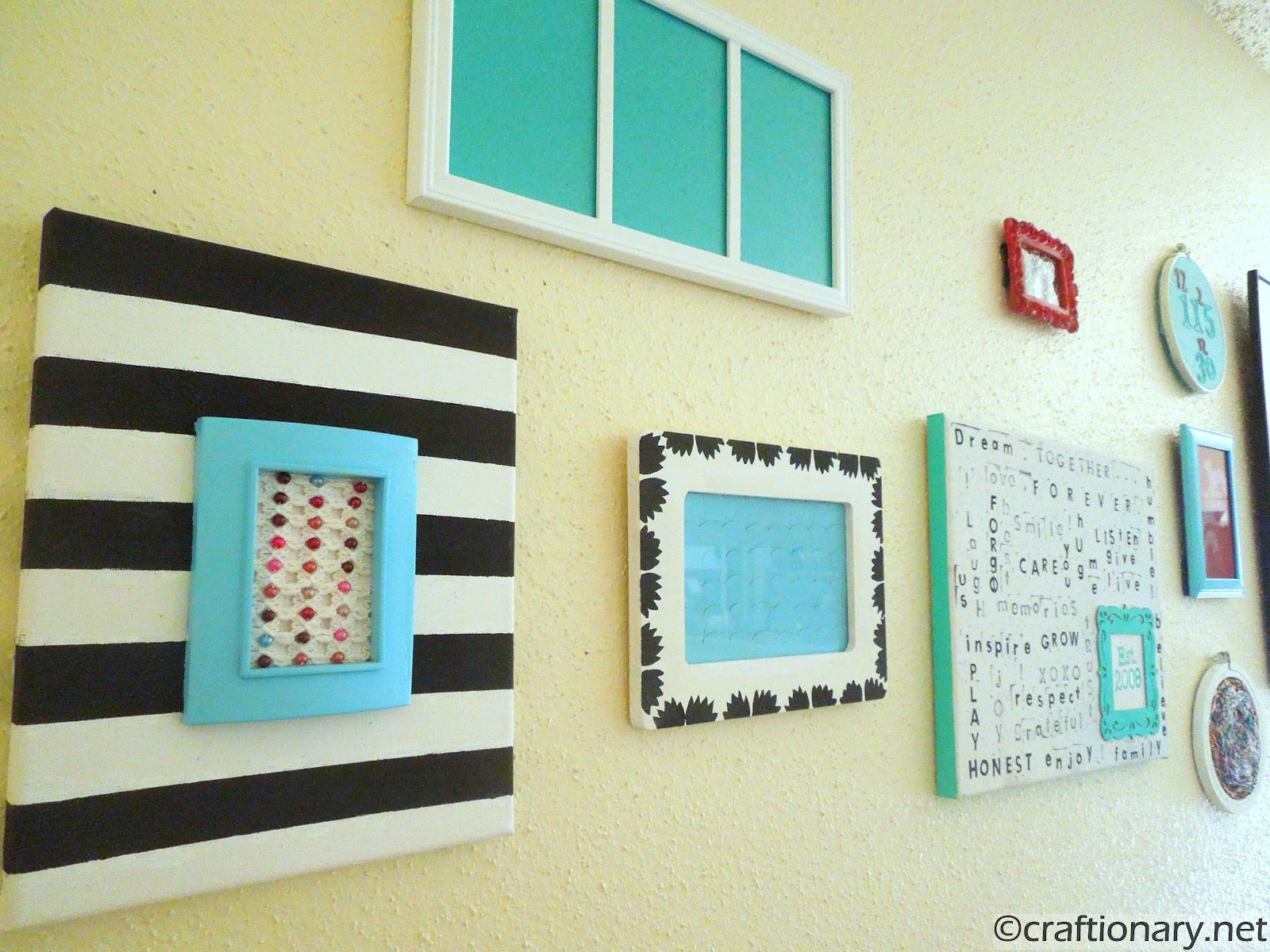 Gallery Wall Reveal (Family Room) - Craftionary