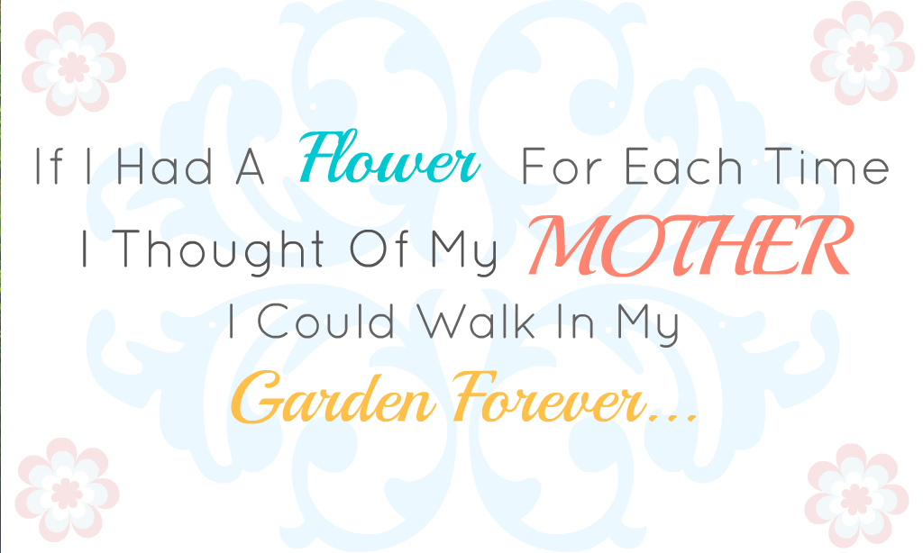 graphic regarding Printable Mothers Day Quotes identify Craftionary