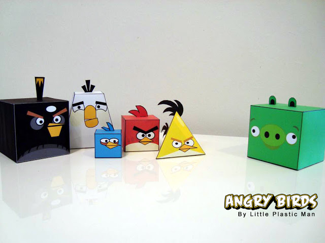 angry birds paper boxes free printable and tutorial