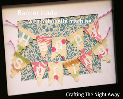 spring-banner-using-silhouette