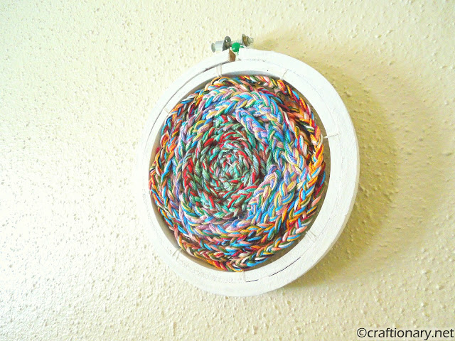 wall decor embroidery hoop