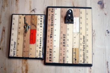 ruler clipboards back to school teacher's gift