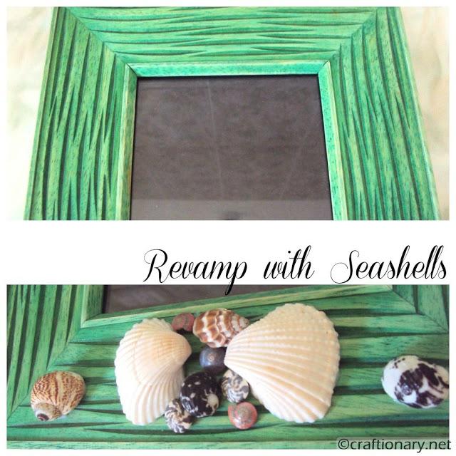 nautical seashells decorating revamp