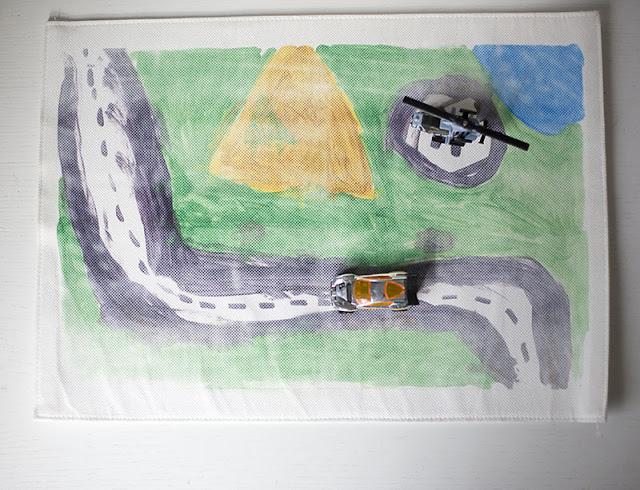 DIY traveling mat