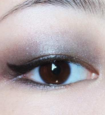 ombre black eye shadow tutorial makeup