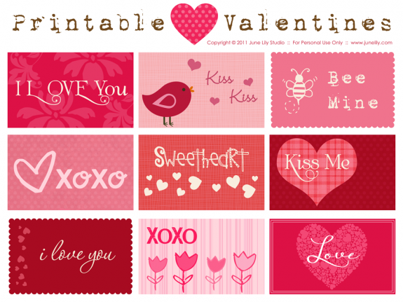Delightful Order: Valentines Day Gift Ideas & Free Printables