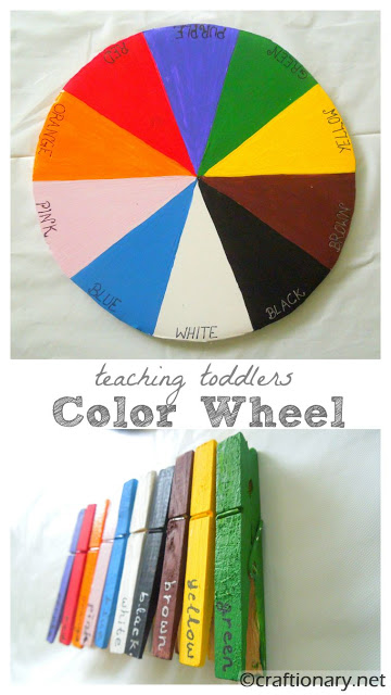 color wheel kids activity