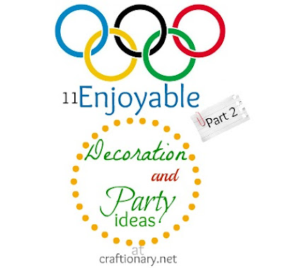 Olympics party and decoration ideas