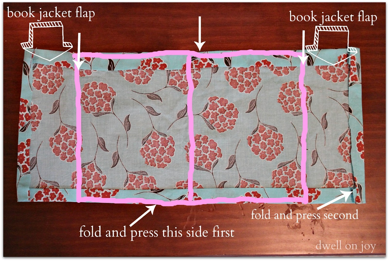 Diy Fabric Book Cover ~ Craftionary